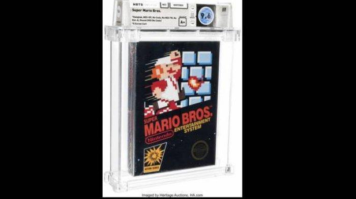 Punya Koleksi Video Game Super Mario Bros Tahun Ini? Bisa Kaya Mendadak, Dilelang Laku Rp 9,6 Miliar