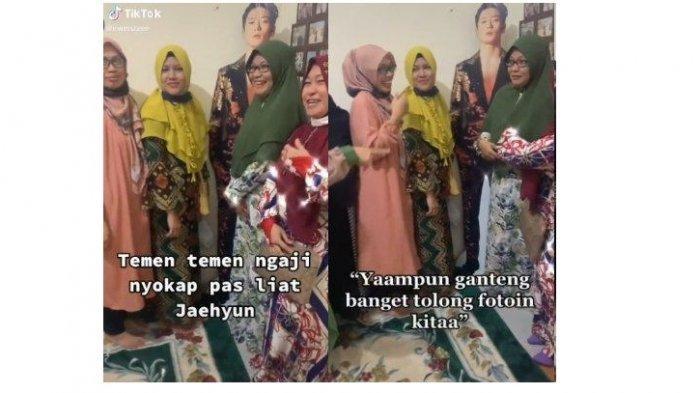 Viral Video Emak-emak Berfoto dengan Stand Figure Jaehyun NCT, Ternyata Begini Fakta di Baliknya