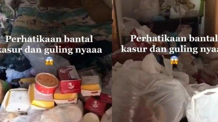 Viral Video Kamar Kos saat Dibuka Penuh dengan Sampah, Ternyata Begini Kisah di Baliknya