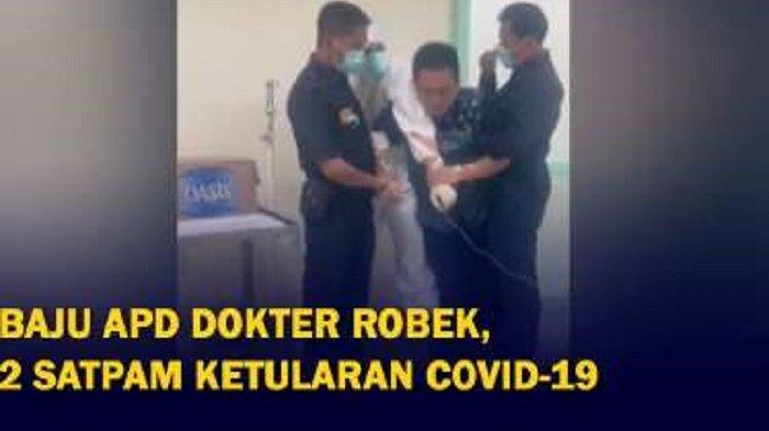 Viral Pasien Covid-19 Ngamuk di RS Hingga Diamankan Satpam, Ternyata Begini Fakta Sebenarnya