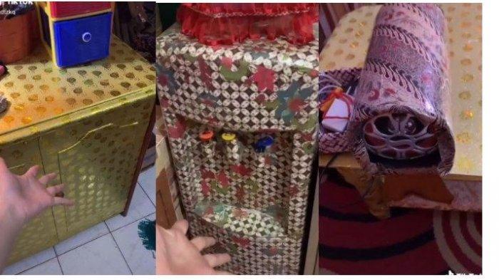 Viral Video Perabotan di Rumah Hampir Semua Dibungkus Kertas Kado, Ternyata Begini Kisah di Baliknya