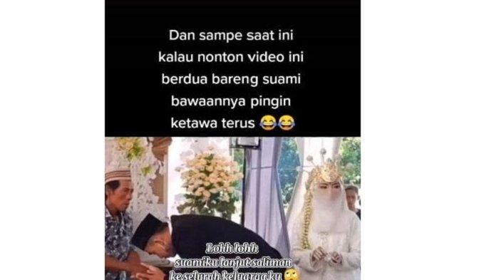 Viral Video Pengantin Wanita Bingung saat Pernikahan, Ternyata Begini Kejadian Sebenarnya