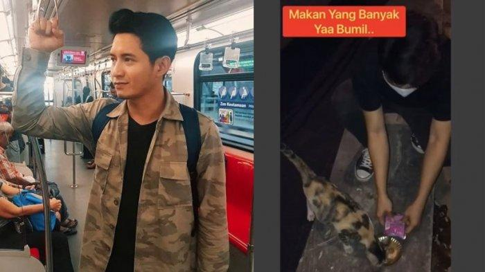 Chand Kelvin Suka Beri Makan Kucing Liar di Lokasi Syuting, Banjir Pujian saat Perlihatkan Isi Tas