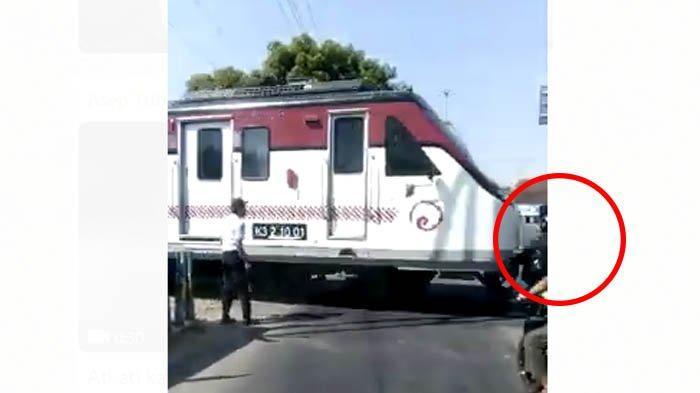 Video Kereta Tabrak Motor di Sukoharjo Tiba-tiba Viral Lagi, Padahal ini Fakta Sebenarnya