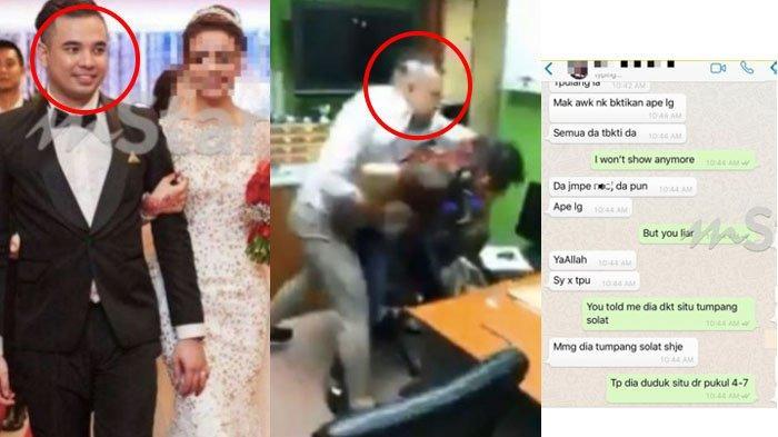 Video Viral Pria Pukuli Dokter, Ternyata Istri Diselingkuhi Dokter, Ketahuan karena Kuitansi Hotel