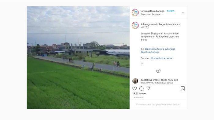 Viral, Aksi Geber Motor Bikin Resah Warga Singopuran Sukoharjo, Kades: Pernah Dirazia, Tetap Ngeyel