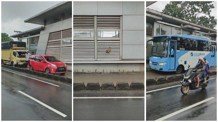 Beredar Video Viral Kendaraan Pribadi Hadang Laju 2 Bus TransJakarta, Begini Penjelasan Si Perekam