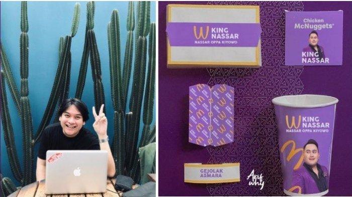 Viral Kemasan BTS Meal Namun Foto Nassar, Pembuat Desain Ngaku Direspons Langsung sang Pedangdut
