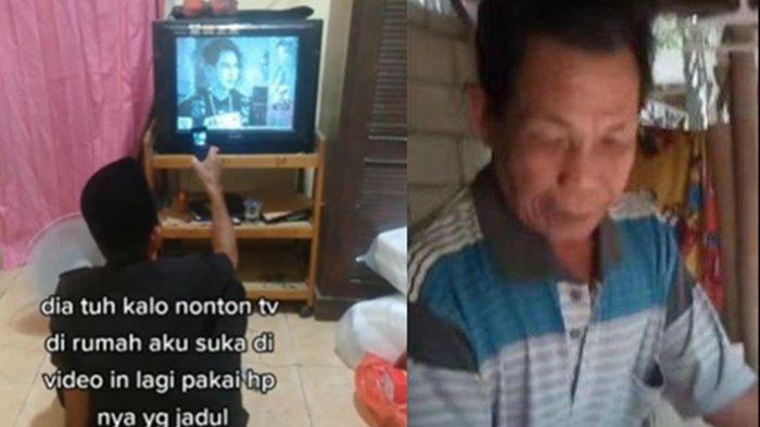Viral Kakek Rekam Siaran TV Pakai HP Jadul agar Bisa Menonton Ulang di Rumah, Kini Banjir Bantuan