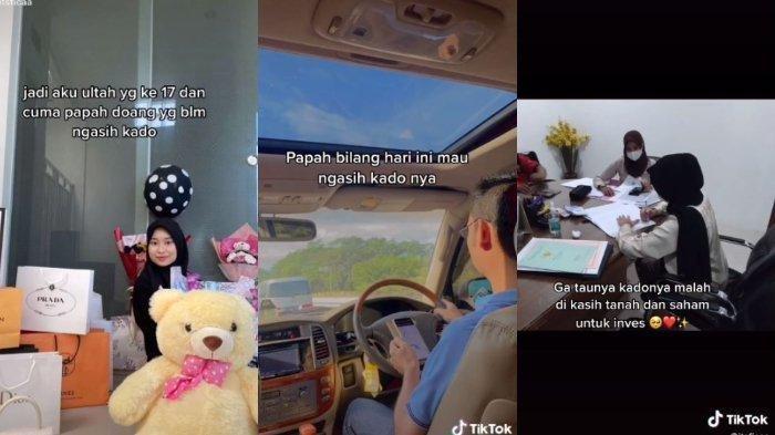 Viral Gadis Ulang Tahun ke-17 Dapat Kado Rumah dan Saham dari Ayah, Ini Pengakuannya: Buat Motivasi