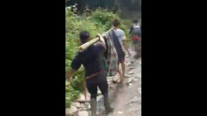 Video Warga di Luwu Utara Ditandu Bambu dan Sarung untuk Berobat Viral di Media Sosial