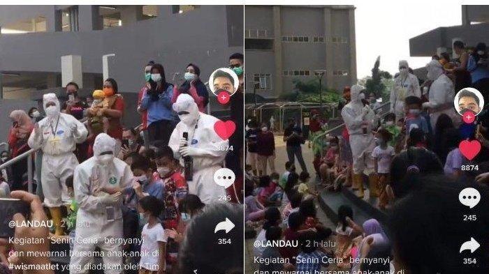 Viral Nakes Gelar Acara 'Senin Ceria' bagi Anak-anak di Wisma Atlet, Banjir Dukungan Netizen