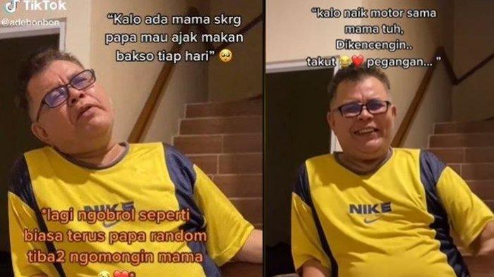 Viral Video Haru Ayah Mendadak Nostalgia Mendiang Istri, Cerita Dulu Sering Makan Bakso Bareng