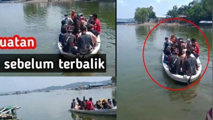 Viral Foto dan Video Kondisi Perahu Kelebihan Muatan Sebelum Terbalik di Kedung Ombo, Ini Faktanya