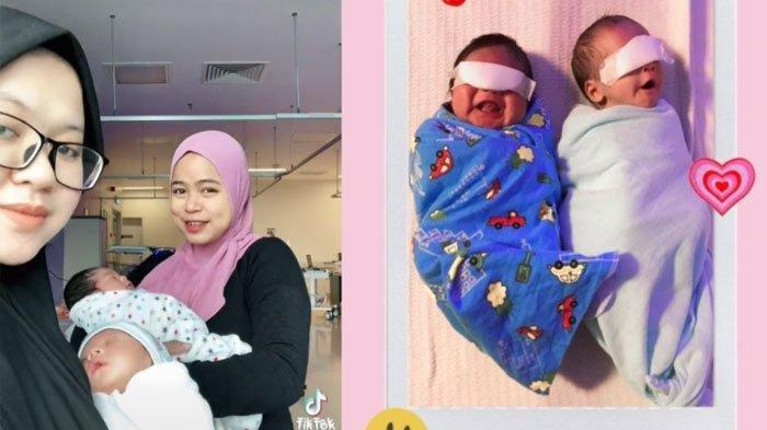 Viral Kisah Dua Wanita 8 Tahun Bersahabat, Lahiran di Hari Sama, Bayi Mereka pun Seperti Kembar