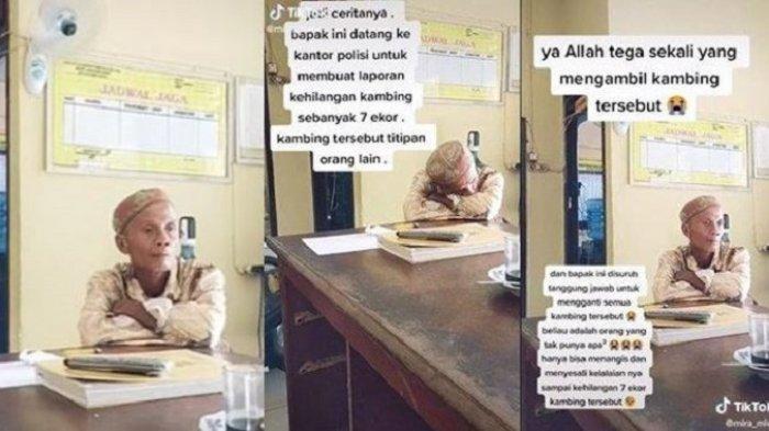 Viral Kisah Kakek di Musi Banyuasin Kehilangan 7 Ekor Kambing Titipan, Menangis saat Lapor Polisi