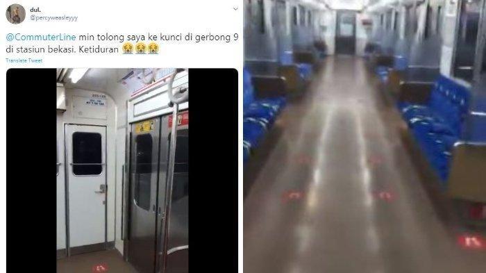 Cerita Lengkap Penumpang KRL Ketiduran dan Terjebak di Gerbong KRL, Bisa Keluar Karena Hal Ini