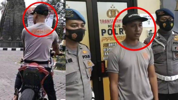 Nasib Pemotor Berkaus Polisi Tanpa Helm di Solo Baru : Awalnya Sangar, Kini Memelas Minta Maaf