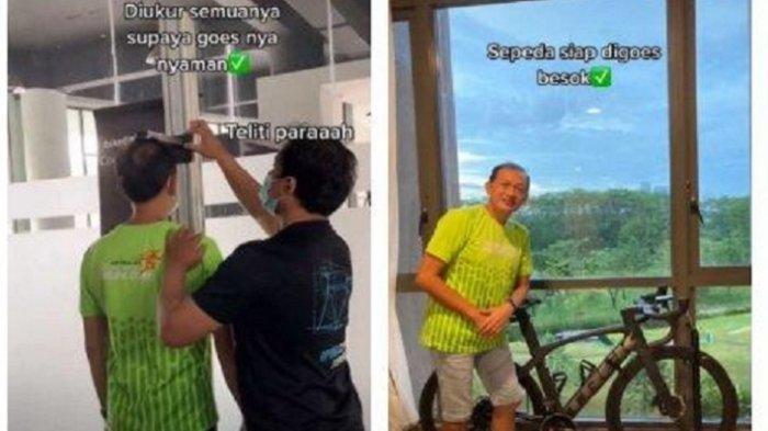 Viral Pria Harus Fitting Dulu Sebelum Membeli Sepeda Rp 150 Juta, Ternyata Begini Kisah Sebenarnya