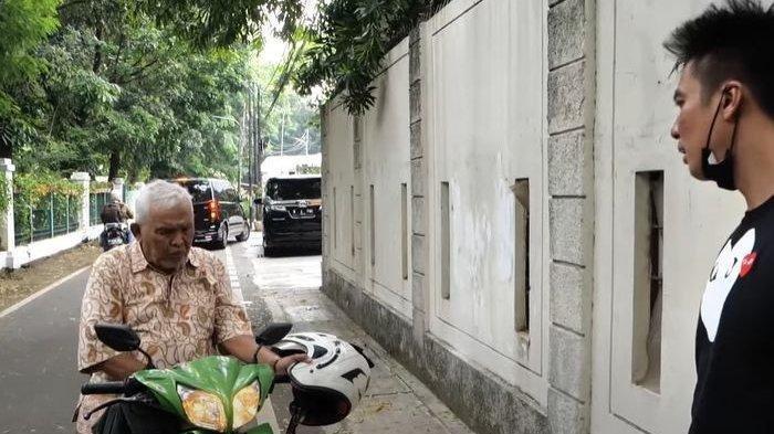 Viral video Baim Wong marahi kakek yang membuntutinya.