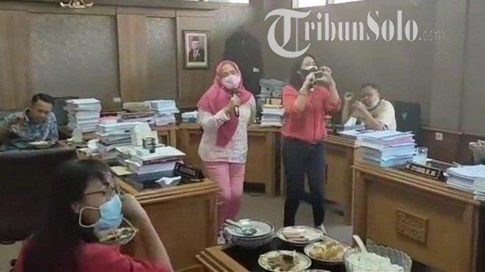 Beredar Video Ruang DPRD Solo Dipakai Nyanyi-nyanyi saat PPKM, Wakil Ketua DPRD Minta Maaf