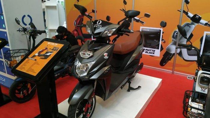 Penampakan dan Spesifikasi Motor Listrik Merek Lokal, Volta 401 Asal Semarang