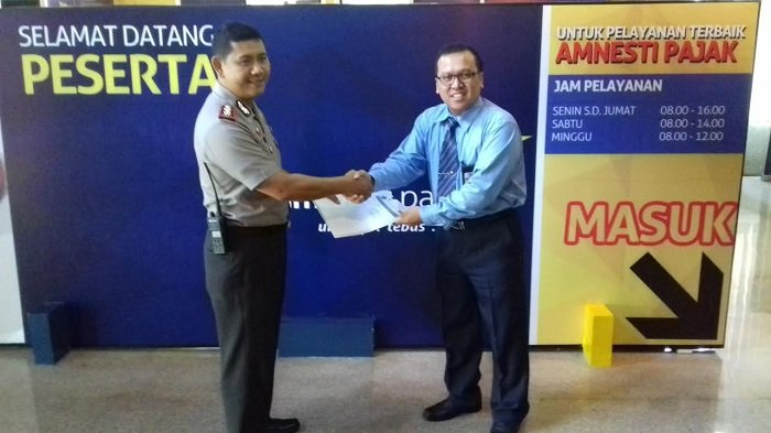 Waka Polresta Solo Laporkan Hasil Kekayaan ke Kantor Wilayah Direktorat Jenderal Pajak Jateng II