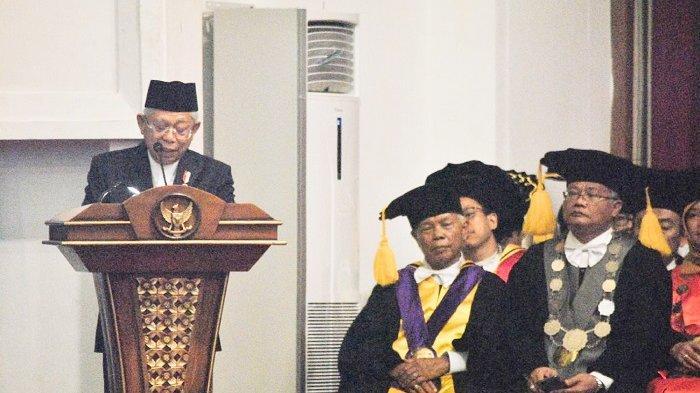 Kelakar Ma'ruf Amin soal 'Pijat Syariah' saat Singgung soal Ekonomi Syariah
