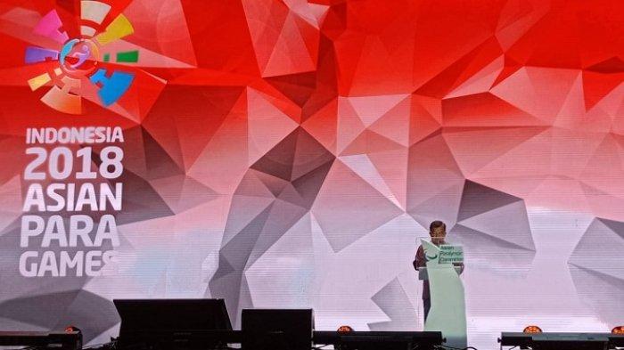 Pidato Closing Ceremony Asian Para Games 2018, Jusuf Kalla: Target yang Diberikan Presiden Meleset
