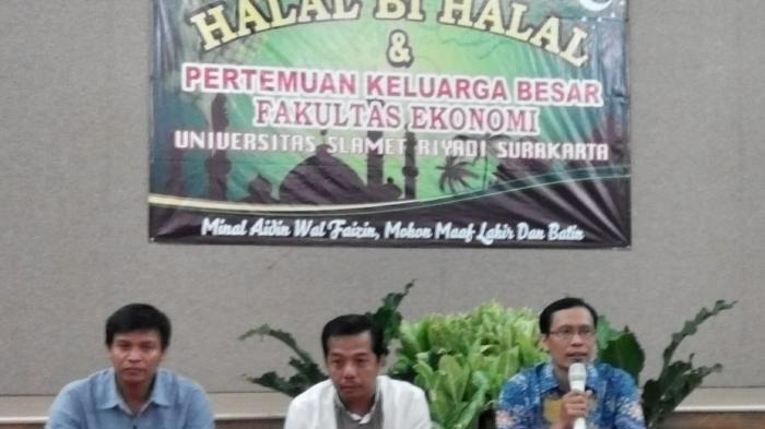 Wakil Rektor Bidang Akademik Unisri Surakarta: SDM Tentukan Kualitas Mutu Perguruan Tinggi