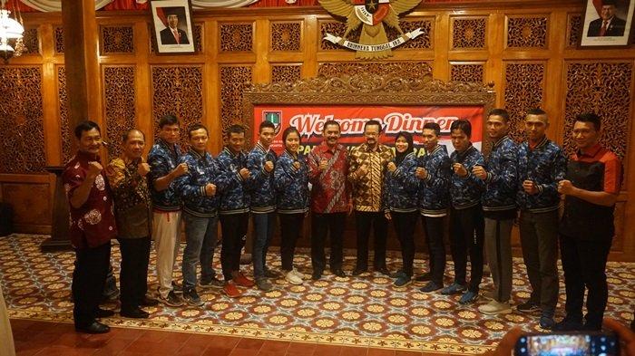 Wali Kota Solo FX Hadi Rudyatmo Undang Para Atlet Asian Games 2018 dari Jateng ke Loji Gandrung