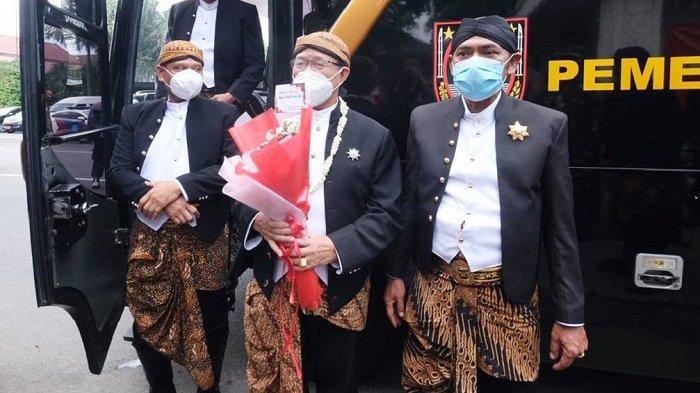 Wali Kota FX Hadi Rudyatmo dan Wakil Wali Kota Solo, Achmad Purnomi resmi pamitan dan tinggalkan tempat bekerja di Bali Kota Solo, Rabu (17/2/2021).