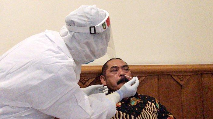 Susul Achmad Purnomo, Hasil Uji Swab Wali Kota Solo FX Rudy Resmi Negatif Covid-19