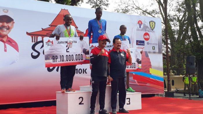 6 Pelari Asal Kenya Borong Medali Kategori Putra dan Putri di Marathon Solo Open 10K