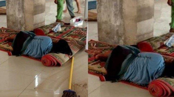 Viral! Wanita Tergolek Lemas di Masjid Kawasan Gowa, Darah Berceceran di Sekitarnya dan Berbau Busuk
