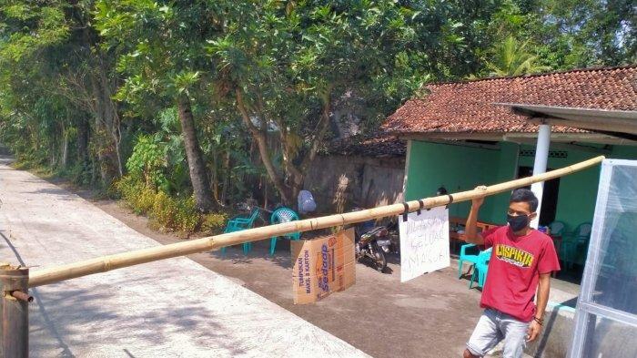 108 warga Desa Tijayan Klaten Jalani Isolasi Mandiri, Warga dan Pemdes Bantu Logistik