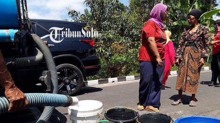 Kekeringan di Boyolali, Warga Terpaksa Beli Air Bersih: Paralon Sumber Air Rusak, Belum Diperbaiki