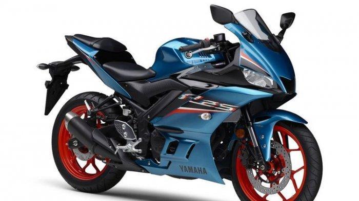 Penampakan Yamaha R25 Model 2021, Andalkan 3 Warna Baru, Termasuk Dark Grey Metallic