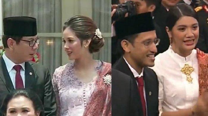Pesona Gista Putri dan Franka Franklin, Istri Menteri Muda di Kabinet Jokowi-Ma'ruf, Curi Perhatian