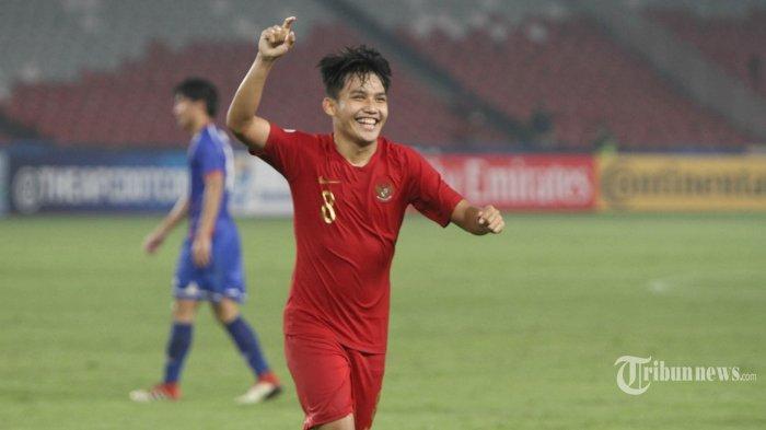 Cetak Dua Gol saat Timnas U-19 vs Taiwan, Witan Sulaeman Dedikasikan untuk Masyarakat Palu