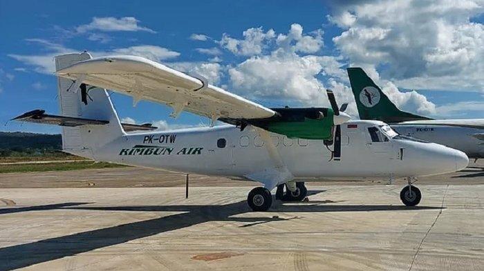 Pesawat Rimbun Air Jatuh dan Hancur Terbakar di Wilayah OPM, Evakuasi Berlangsung Dramatis