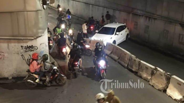 Imbas Sering Terjadi Kecelakaan, Dishub Sukoharjo Tambah Lampu Penerangan di Underpass Makamhaji