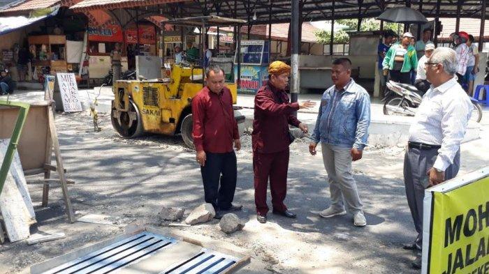 Komisi II DPRD Solo Desak Drainase Kawasan Taman Jaya Wijaya Jebres Dibongkar Ulang