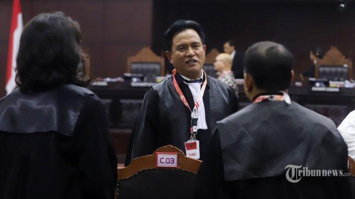 Yusril Ihza Sebut Semua Dalil BPN Prabowo-Sandi Sebatas Asumsi, Lemah dan Mudah Dipatahkan