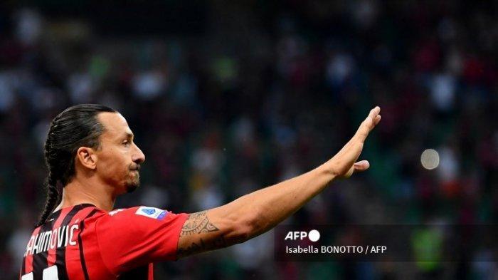 'Kepang Samurai' Ibrahimovic Curi Perhatian, Kunci Keganasan Si Pencetak Gol Asing Tertua Serie A