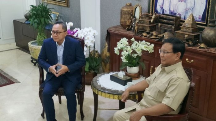 Prabowo Singgung Strategi PAN Kalahkan Ahok di Pilkada DKI, Zulkifli Hasan Sebut Itu Hanya Pujian