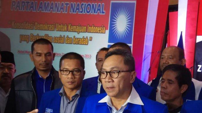 Zulkifli Hasan Tanda TanganiSurat Rekomendasi PAN untuk Putra Jokowi Gibran di Pilkada Solo 2020