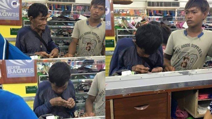 Kisah Viral: Ayah Miskin Nabung Bertahun-tahun Demi Beli Sepatu Anak, Susah Payah Hitung Uang Koin