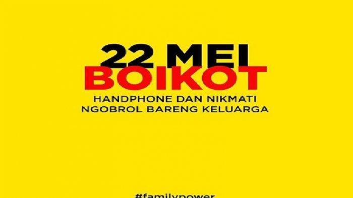 22 Mei 2019, Barengan Pengumuman Hasil Pemilu 2019, Muncul Gerakan Family Power Trending di Sosmed