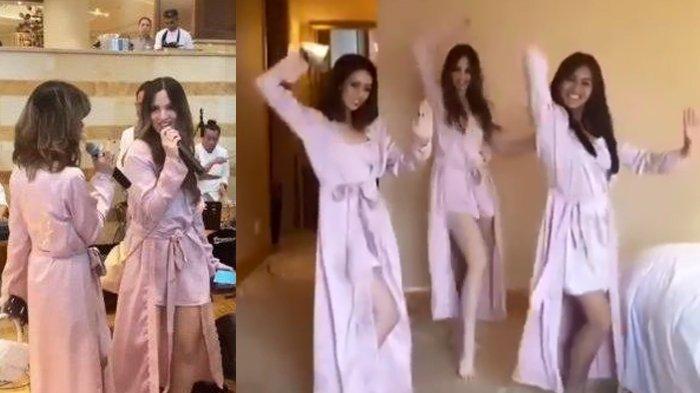 Video 3 Aksi Nia Ramadhani di Bridal Shower Jedar Curi Perhatian, dari Tik Tok Hingga Nyanyi Bareng